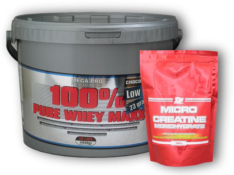 100% Pure Whey Maxx 4540g + Creatin 555g