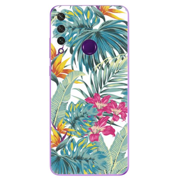 Odolné silikonové pouzdro iSaprio - Tropical White 03 - Huawei Y6p