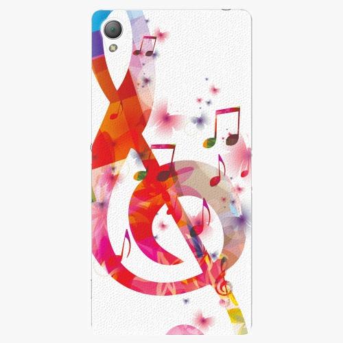 Plastový kryt iSaprio - Love Music - Sony Xperia Z3