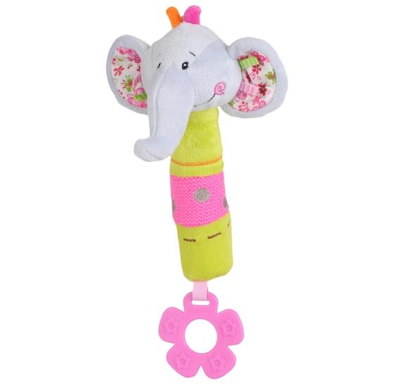 BabyOno Edukační hračka Baby Ono - pískací - Slon