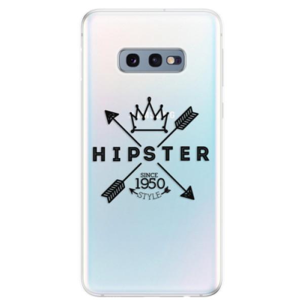 Odolné silikonové pouzdro iSaprio - Hipster Style 02 - Samsung Galaxy S10e