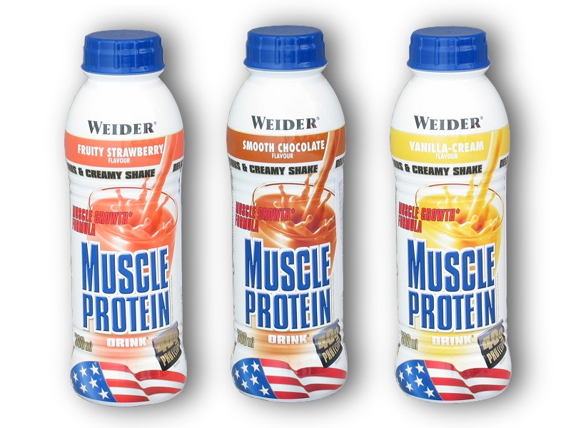 Muscle Protein Drink - 500ml-chocolate
