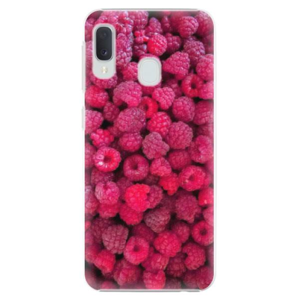Plastové pouzdro iSaprio - Raspberry - Samsung Galaxy A20e