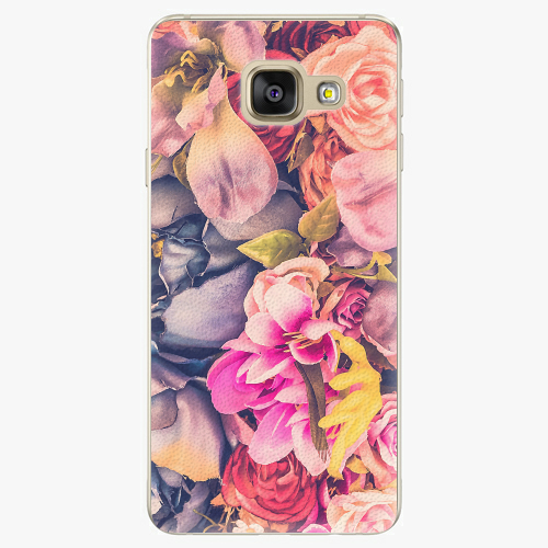 Plastový kryt iSaprio - Beauty Flowers - Samsung Galaxy A3 2016
