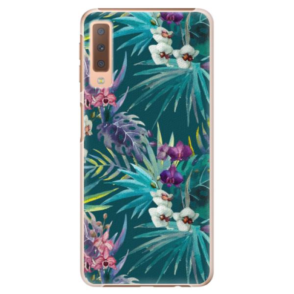 Plastové pouzdro iSaprio - Tropical Blue 01 - Samsung Galaxy A7 (2018)