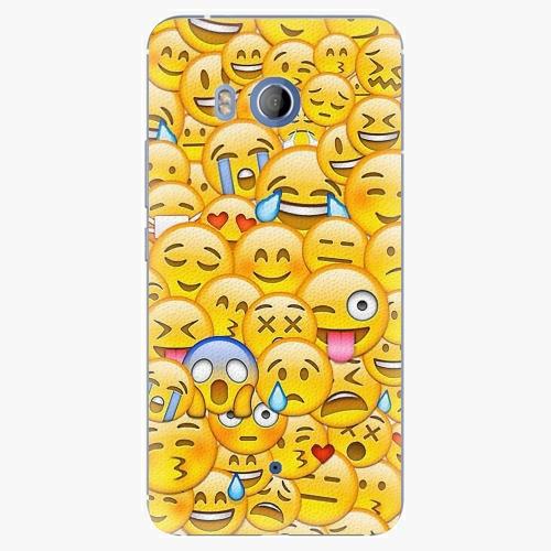 Plastový kryt iSaprio - Emoji - HTC U11
