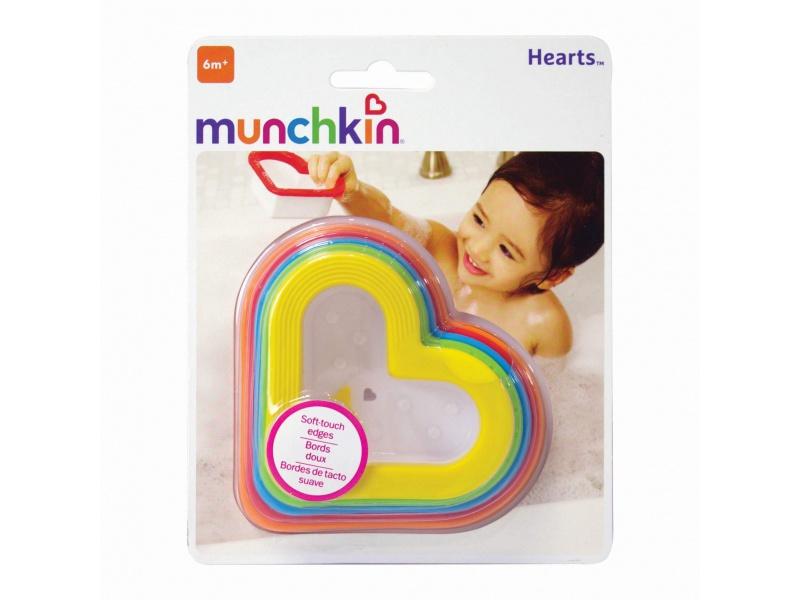Munchkin - Vodní misky srdíčko