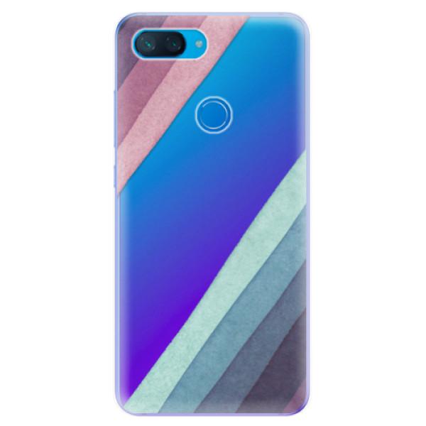 Odolné silikonové pouzdro iSaprio - Glitter Stripes 01 - Xiaomi Mi 8 Lite