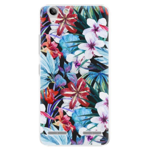 Plastové pouzdro iSaprio - Tropical Flowers 05 - Lenovo Vibe K5