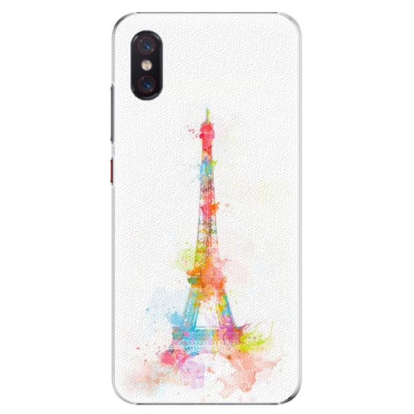 Plastové pouzdro iSaprio - Eiffel Tower - Xiaomi Mi 8 Pro
