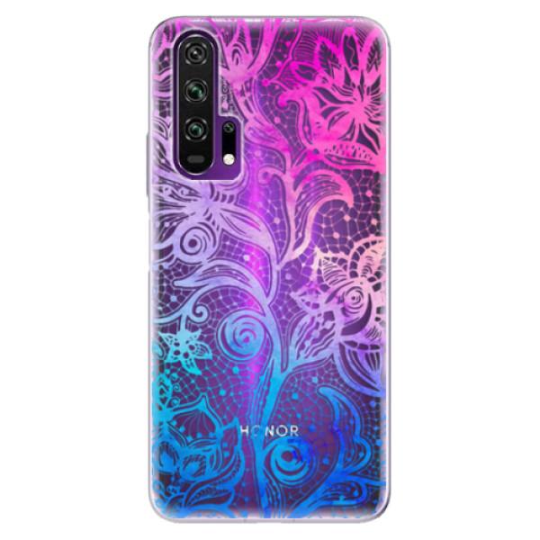 Odolné silikonové pouzdro iSaprio - Color Lace - Honor 20 Pro