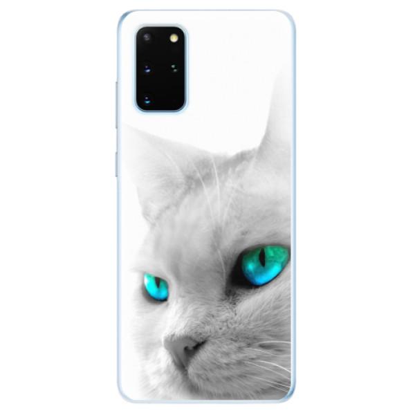 Odolné silikonové pouzdro iSaprio - Cats Eyes - Samsung Galaxy S20+