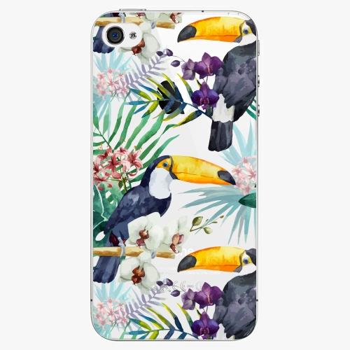Plastový kryt iSaprio - Tucan Pattern 01 - iPhone 4/4S