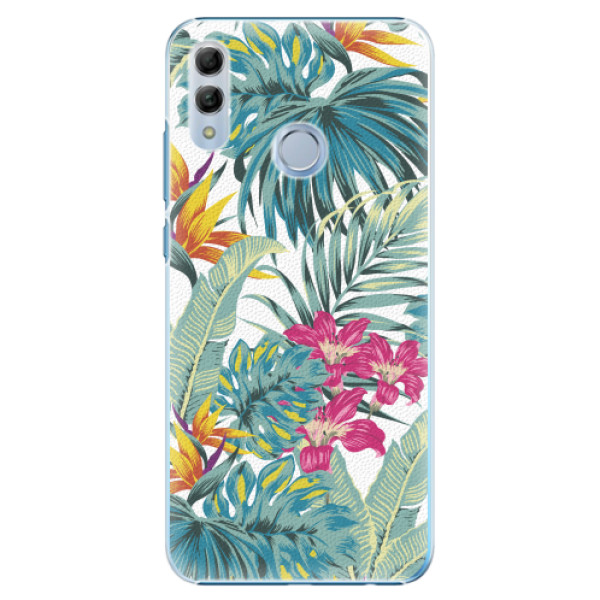 Plastové pouzdro iSaprio - Tropical White 03 - Huawei Honor 10 Lite
