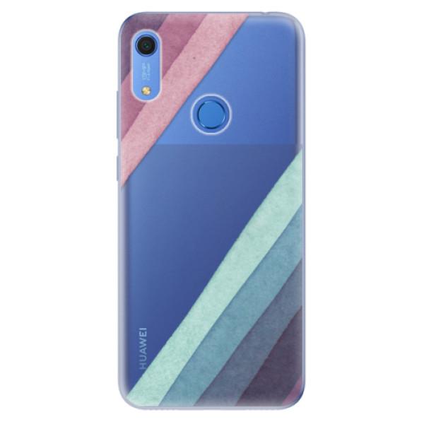 Odolné silikonové pouzdro iSaprio - Glitter Stripes 01 - Huawei Y6s