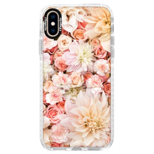Silikonové pouzdro Bumper iSaprio - Flower Pattern 06 - iPhone XS