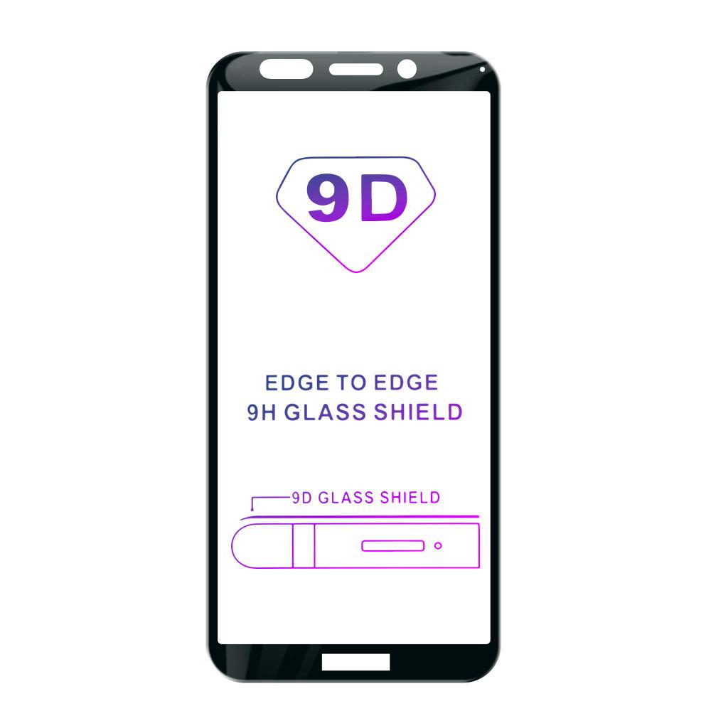 Tvrzené sklo iSaprio 9D BLACK pro Huawei Y5 (2018)
