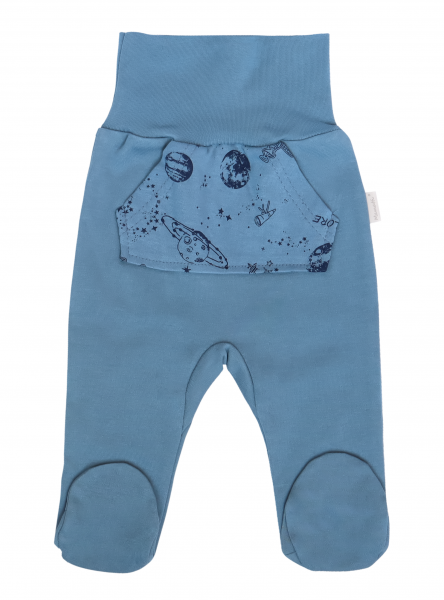 mamatti-kojenecke-polodupacky-vesmir-modre-s-kapsami-vel-80-80-9-12m