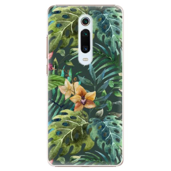 Plastové pouzdro iSaprio - Tropical Green 02 - Xiaomi Mi 9T Pro