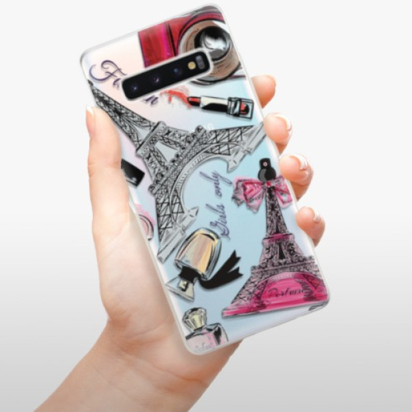 Odolné silikonové pouzdro iSaprio - Fashion pattern 02 - Samsung Galaxy S10+