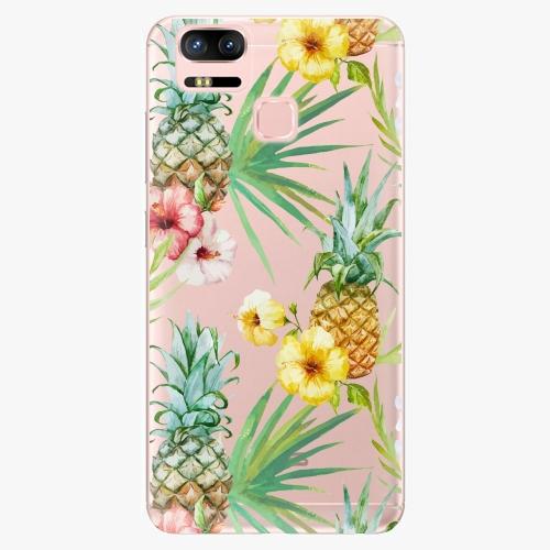 Plastový kryt iSaprio - Pineapple Pattern 02 - Asus ZenFone 3 Zoom ZE553KL