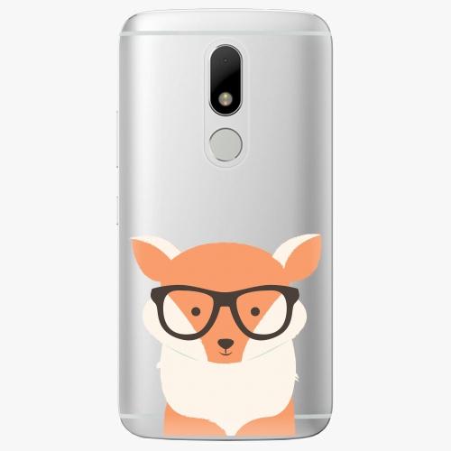 Plastový kryt iSaprio - Orange Fox - Lenovo Moto M