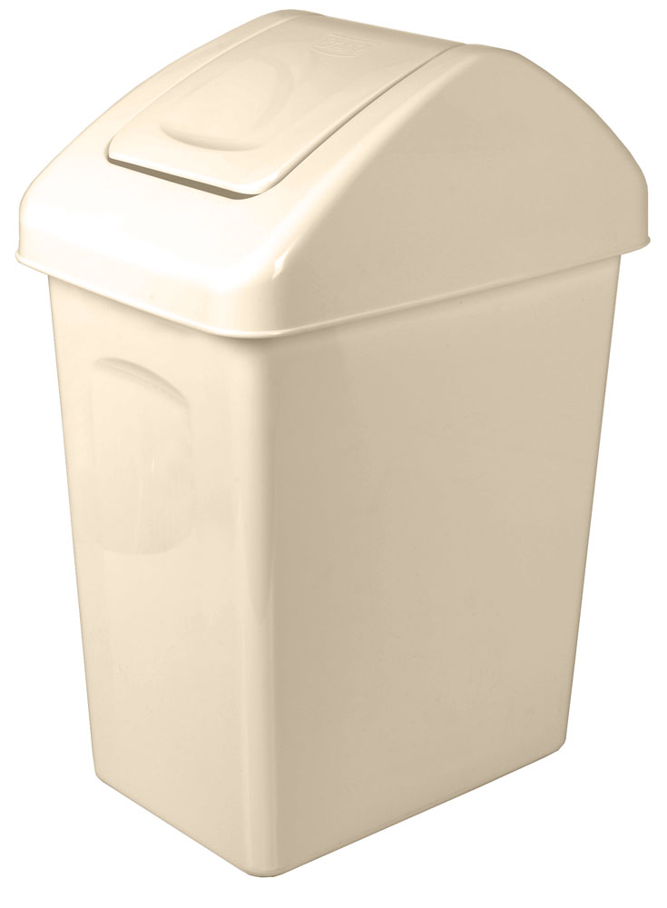Odpadkový koš s výklopným víkem 25l