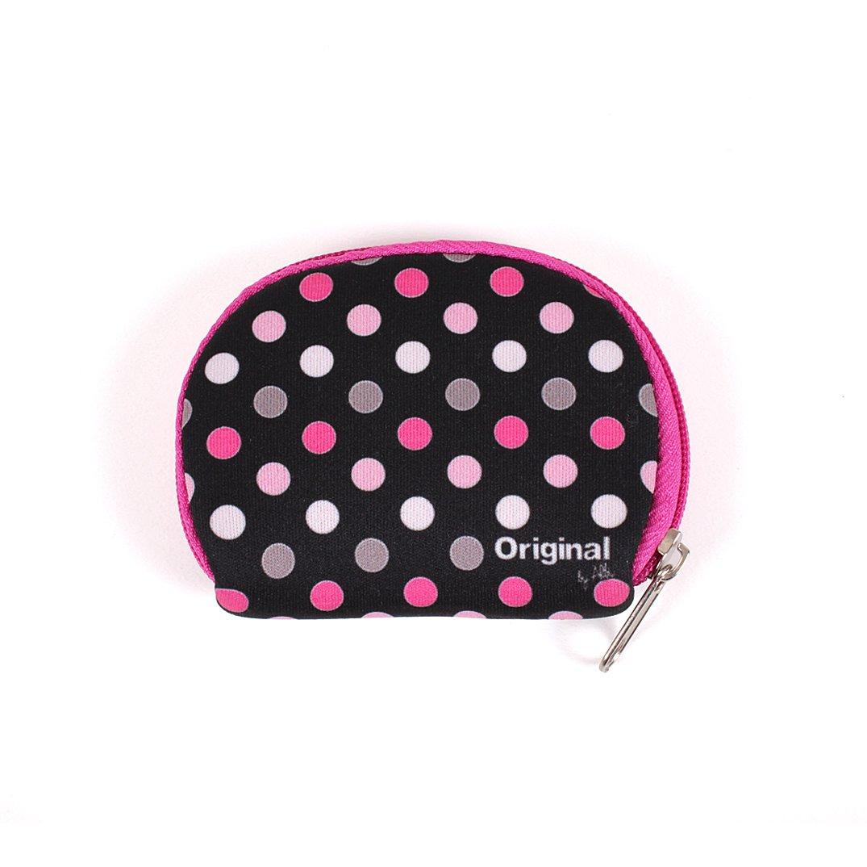 - Mini peněženka s puntíky