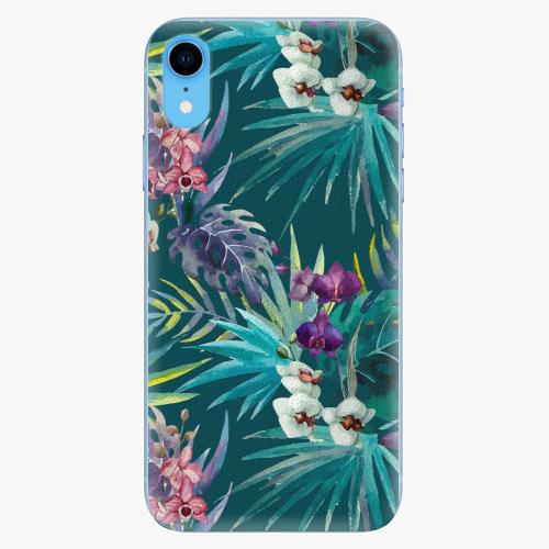 Silikonové pouzdro iSaprio - Tropical Blue 01 - iPhone XR