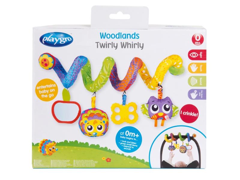 Playgro - Spirála se zrcátkem