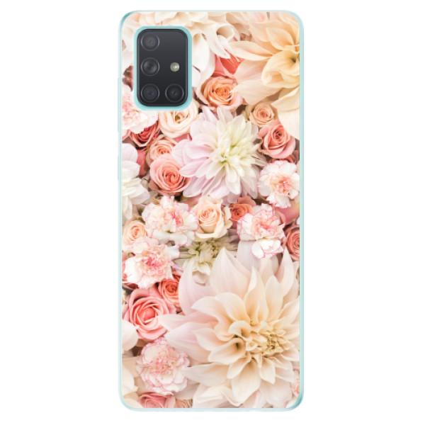 Odolné silikonové pouzdro iSaprio - Flower Pattern 06 - Samsung Galaxy A71
