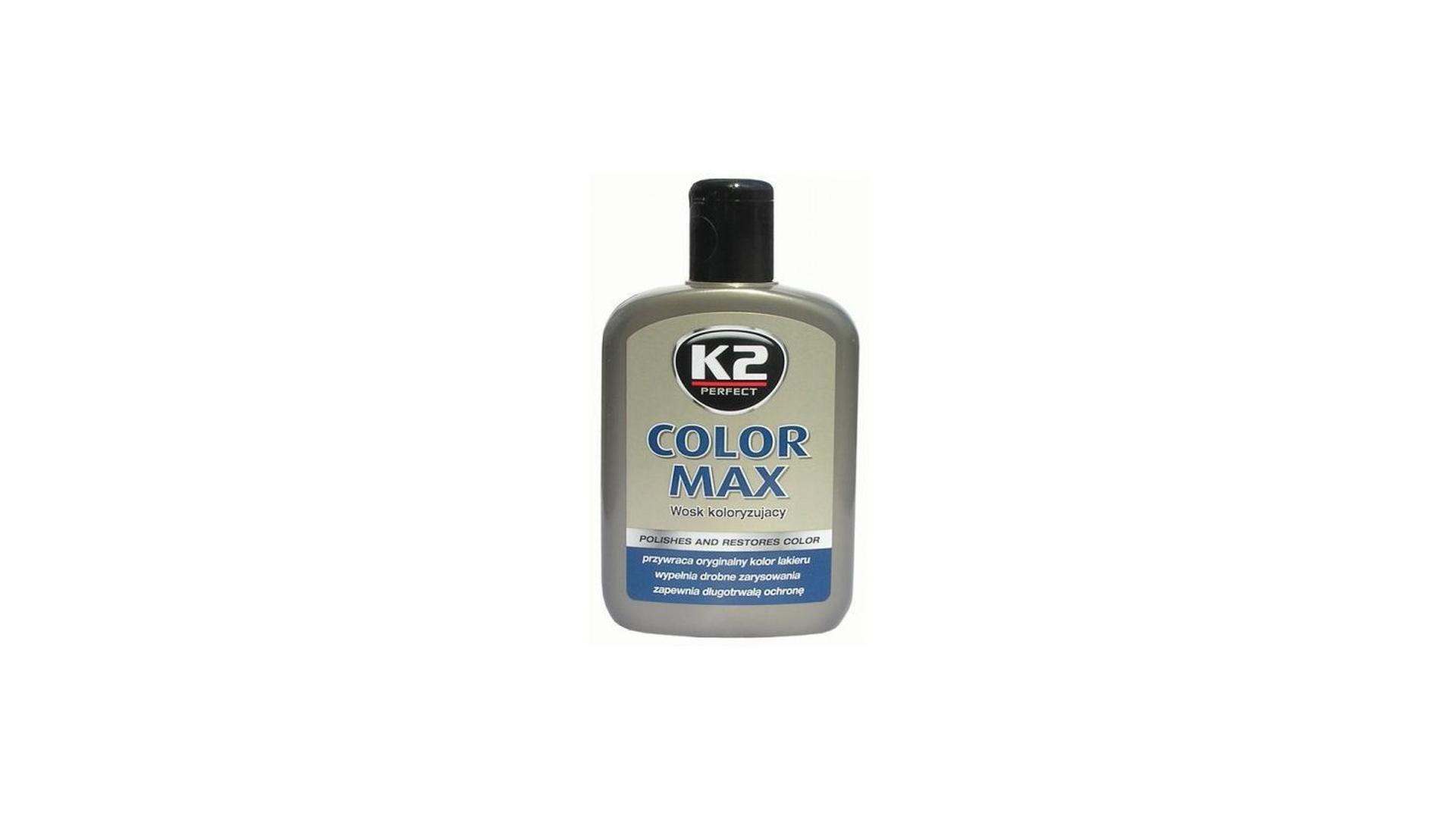 K2 COLOR MAX 200ml ŠEDÁ - aktivní vosk