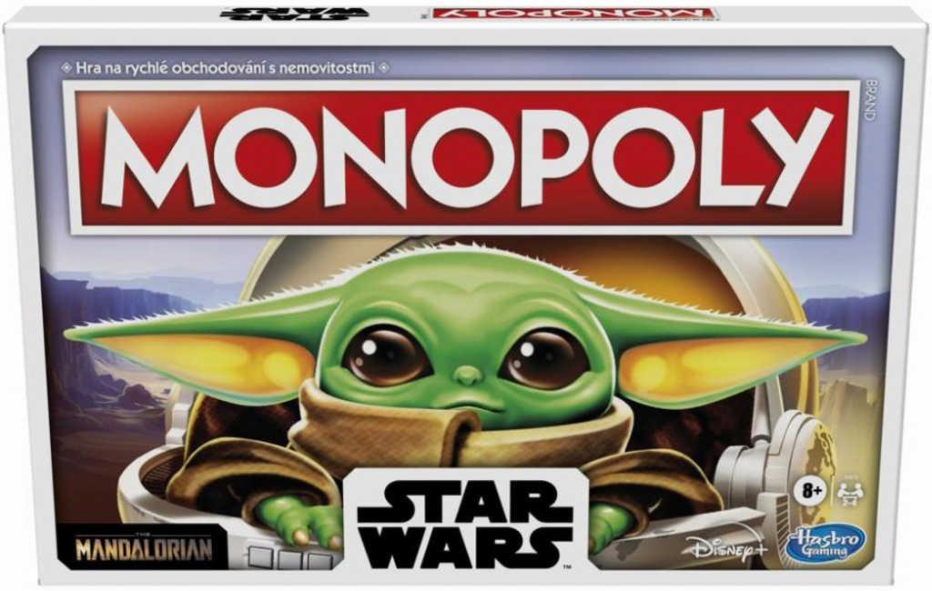 HASBRO Monopoly Star Wars The Mandalorian The Child *SPOLEČENSKÉ HRY*