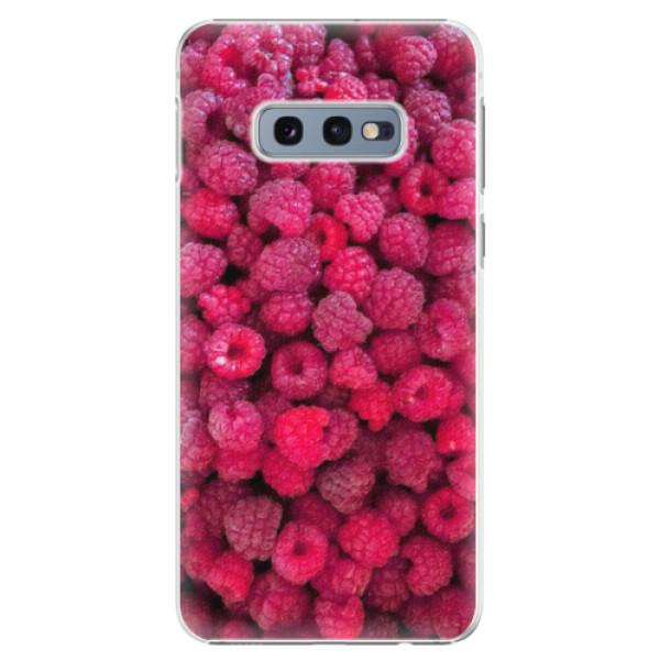Plastové pouzdro iSaprio - Raspberry - Samsung Galaxy S10e