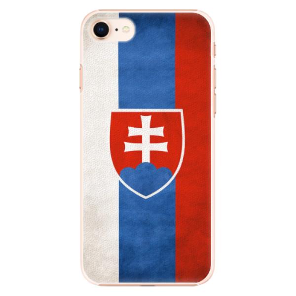 Plastové pouzdro iSaprio - Slovakia Flag - iPhone 8
