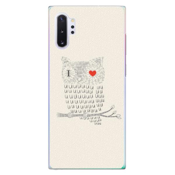Plastové pouzdro iSaprio - I Love You 01 - Samsung Galaxy Note 10+