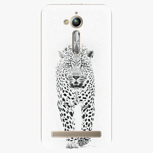 Plastový kryt iSaprio - White Jaguar - Asus ZenFone Go ZB500KL