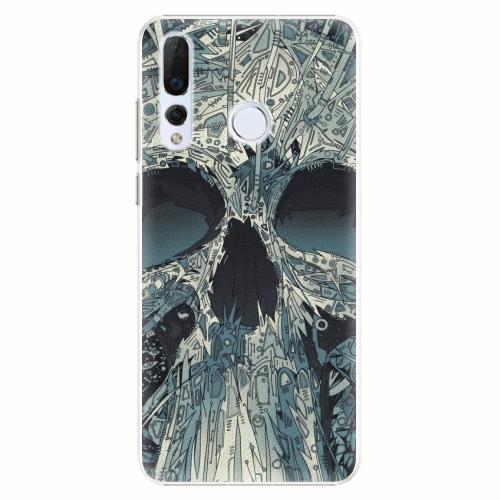 Plastový kryt iSaprio - Abstract Skull - Huawei Nova 4