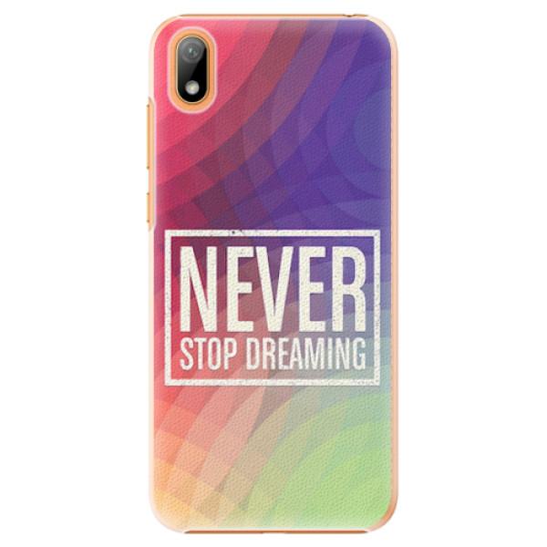 Plastové pouzdro iSaprio - Dreaming - Huawei Y5 2019