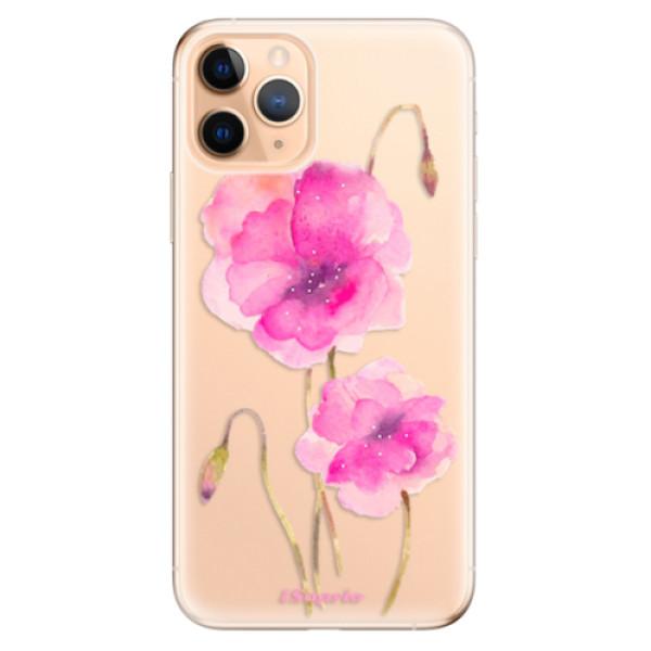 Odolné silikonové pouzdro iSaprio - Poppies 02 - iPhone 11 Pro