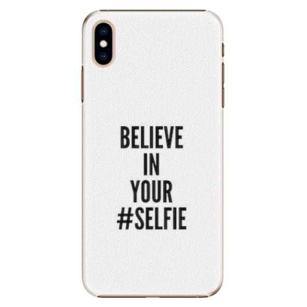 Plastové pouzdro iSaprio - Selfie - iPhone XS Max