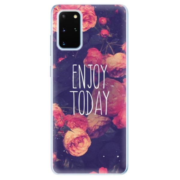 Odolné silikonové pouzdro iSaprio - Enjoy Today - Samsung Galaxy S20+