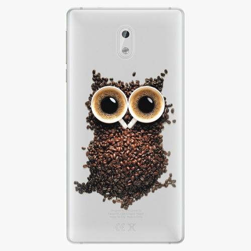 Plastový kryt iSaprio - Owl And Coffee - Nokia 3