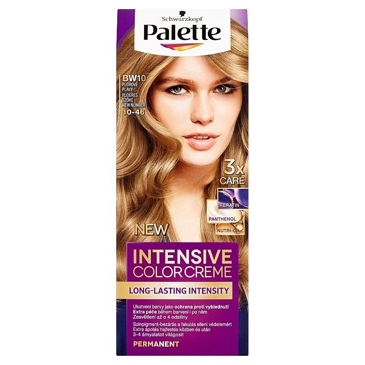 Schwarzkopf Intensive Color Creme barva na vlasy Pudrově Plavý BW10 (10-46)