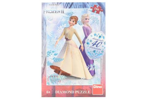 Puzzle Frozen II diamond 200 dílků
