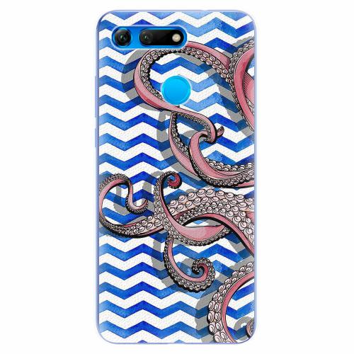 Silikonové pouzdro iSaprio - Octopus - Huawei Honor View 20