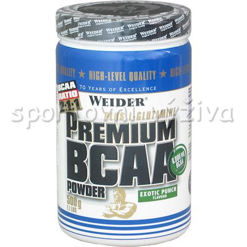 Premium BCAA Powder - 500g-exotic-punch