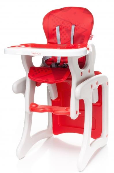 Jídelní stoleček červený