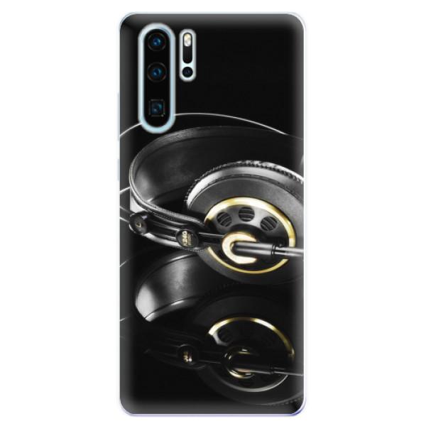 Odolné silikonové pouzdro iSaprio - Headphones 02 - Huawei P30 Pro