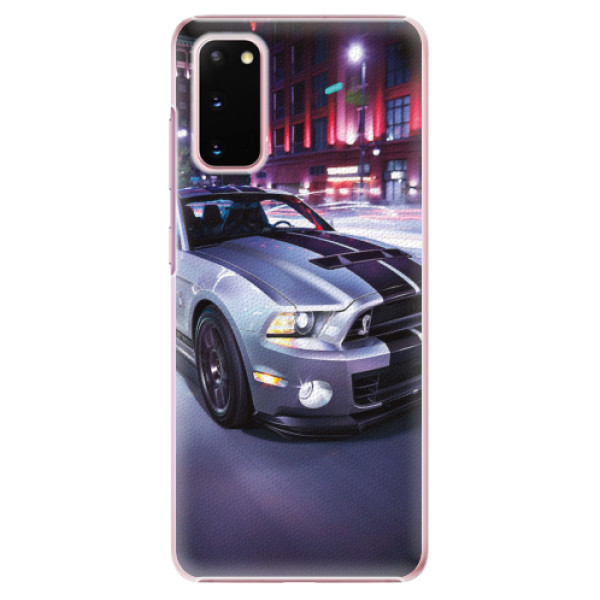 Plastové pouzdro iSaprio - Mustang - Samsung Galaxy S20
